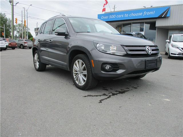 2014 Volkswagen Tiguan Comfortline (Stk: 190707) in Kingston - Image 1 of 13