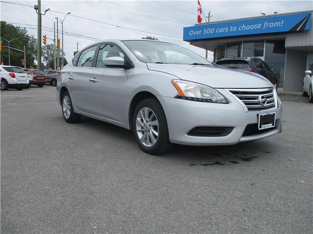 2015 Nissan Sentra 1.8 SV (Stk: 190777) in Kingston - Image 1 of 13