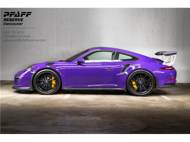 2016 Porsche 911 GT3 RS (Stk: VU0445) in Vancouver - Image 1 of 28