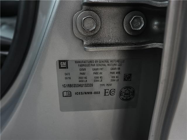 2017 Chevrolet Volt Premier (Stk: F105) in Ancaster - Image 22 of 30
