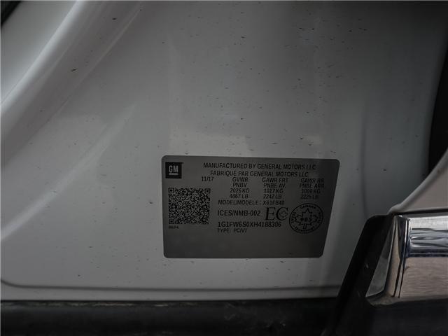 2017 Chevrolet Bolt EV LT (Stk: F107) in Ancaster - Image 21 of 29