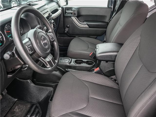 2017 Jeep Wrangler Sport (Stk: 18616AA) in Ancaster - Image 11 of 24