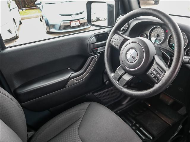 2017 Jeep Wrangler Sport (Stk: 18616AA) in Ancaster - Image 16 of 24