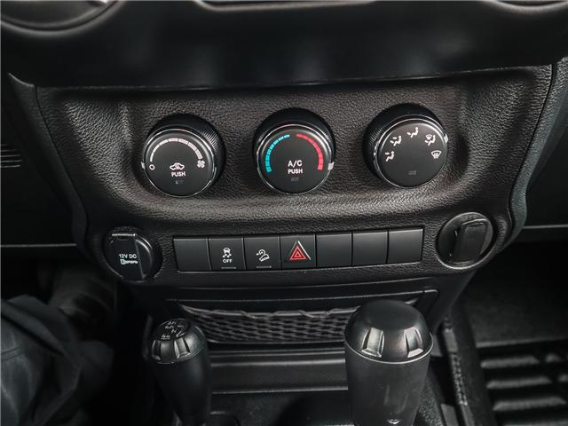 2017 Jeep Wrangler Sport (Stk: 18616AA) in Ancaster - Image 23 of 24