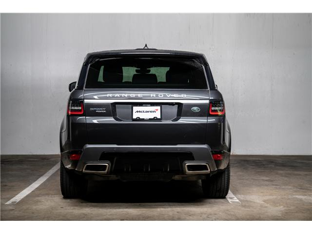 2018 Land Rover Range Rover Sport HSE (Stk: VU0447) in Vancouver - Image 7 of 29