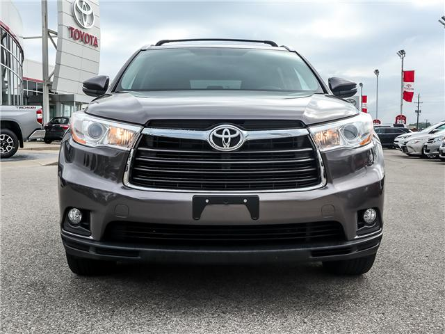 2016 Toyota Highlander XLE (Stk: 3830) in Ancaster - Image 2 of 30