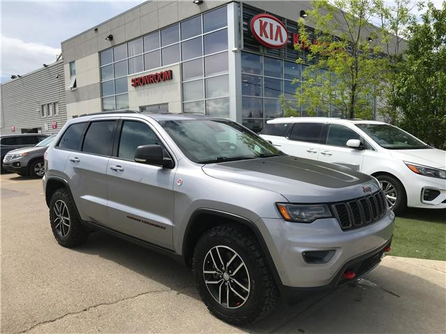 2017 Jeep Grand Cherokee Trailhawk (Stk: 21343A) in Edmonton - Image 1 of 29