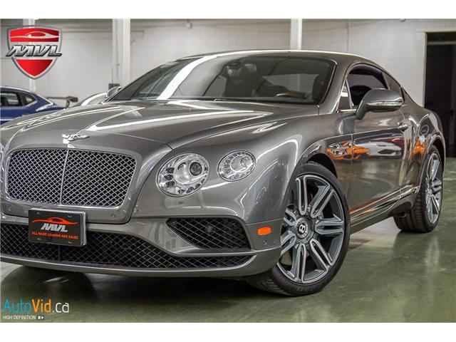 2016 Bentley Continental GT W12 SCBFU7ZA8GG052877 15574 in Oakville