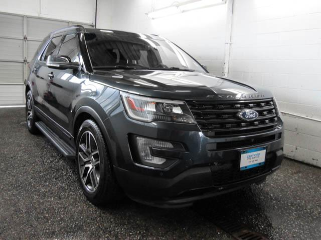 2017 Ford Explorer Sport (Stk: E9-55271) in Burnaby - Image 2 of 24