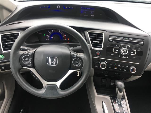 2015 Honda Civic LX (Stk: U15238) in Barrie - Image 2 of 12