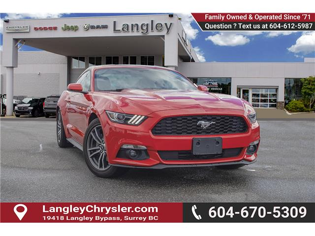 2017 Ford Mustang EcoBoost Premium (Stk: K639961A) in Surrey - Image 1 of 22