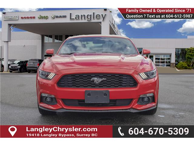 2017 Ford Mustang EcoBoost Premium (Stk: K639961A) in Surrey - Image 2 of 22
