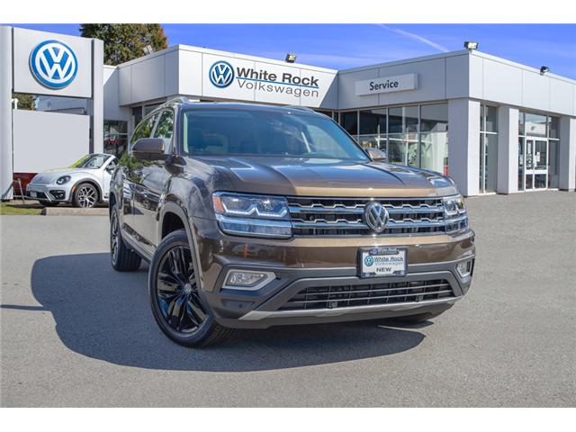 2019 Volkswagen Atlas 3.6 FSI Highline (Stk: KA539687) in Vancouver - Image 1 of 28