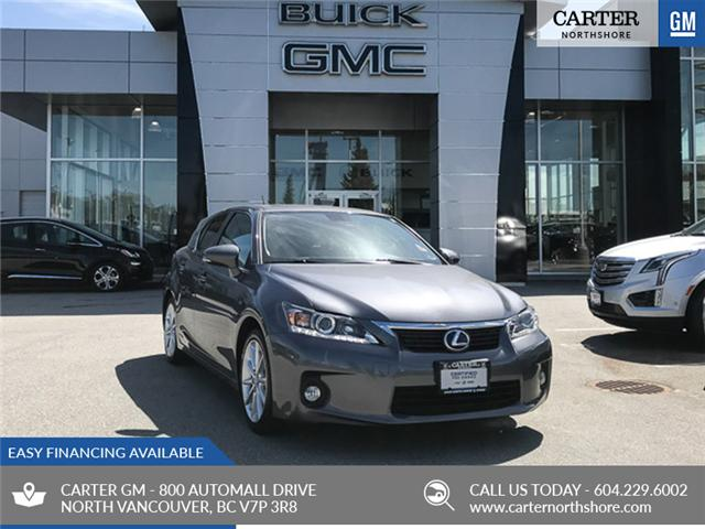 2012 Lexus CT 200h Base (Stk: 9B89701) in North Vancouver - Image 1 of 28