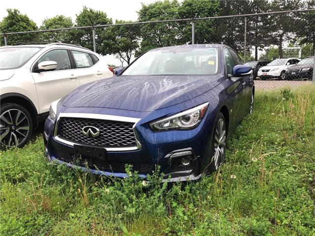2019 Infiniti Q50 3.0t Signature Edition (Stk: 19Q5042) in Newmarket - Image 1 of 4