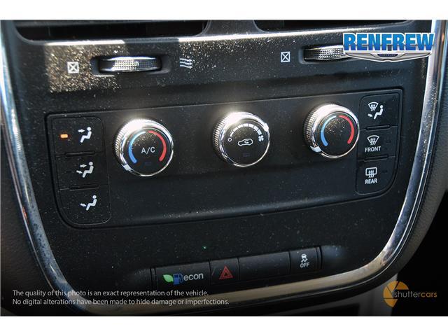 2016 Dodge Grand Caravan SE/SXT (Stk: K033A) in Renfrew - Image 16 of 20