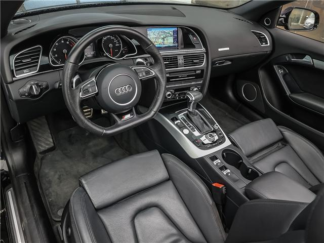 2015 Audi A5 2.0T Technik (Stk: P3223) in Toronto - Image 10 of 28