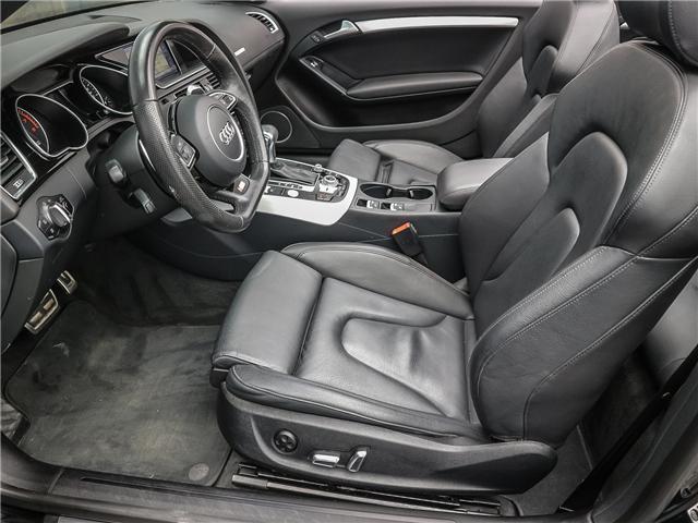 2015 Audi A5 2.0T Technik (Stk: P3223) in Toronto - Image 11 of 28