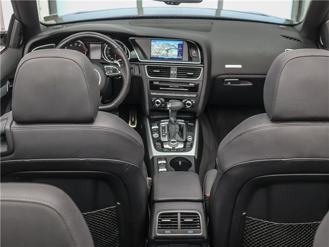 2015 Audi A5 2.0T Technik (Stk: P3223) in Toronto - Image 13 of 28