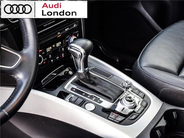 2015 Audi Q5 2.0T Technik (Stk: Q26049A) in London - Image 11 of 26