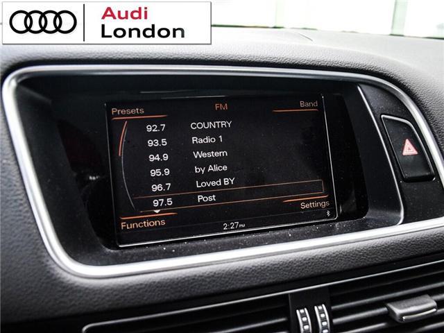 2015 Audi Q5 2.0T Technik (Stk: Q26049A) in London - Image 16 of 26