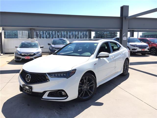 2018 Acura TLX Tech A-Spec (Stk: V19984A) in Toronto - Image 1 of 25
