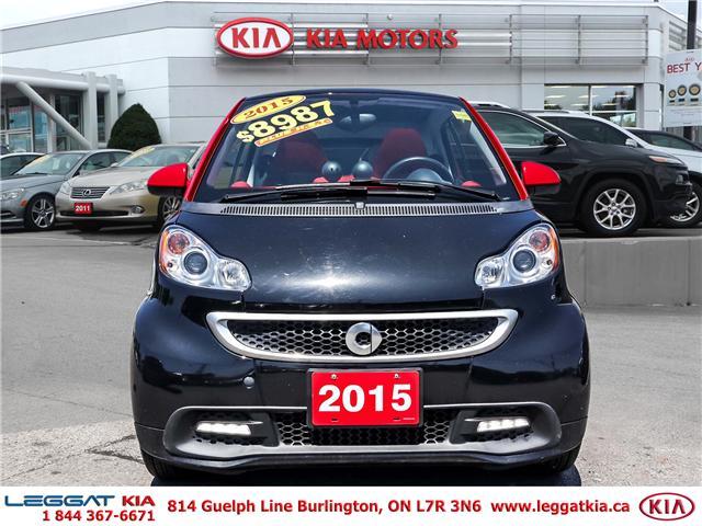 2015 Smart Fortwo  (Stk: 2385A) in Burlington - Image 2 of 17