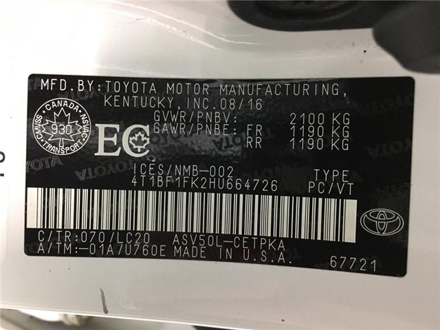 2017 Toyota Camry XSE (Stk: 34982J) in Belleville - Image 26 of 30