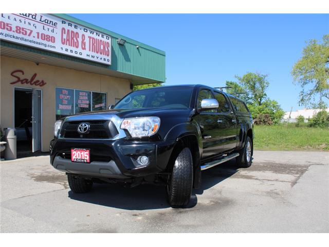 2015 Toyota Tacoma V6 (Stk: ) in Bolton - Image 1 of 25