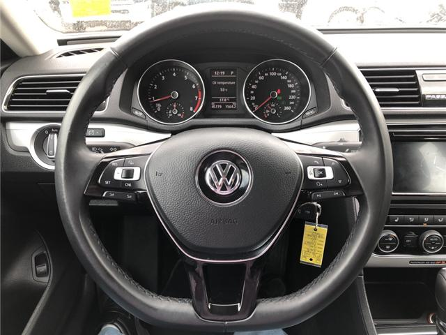 2018 Volkswagen Passat 2.0 TSI Trendline+ (Stk: P36718) in Saskatoon - Image 11 of 15