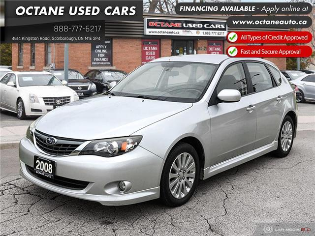 2008 Subaru Impreza 2.5 i (Stk: ) in Scarborough - Image 1 of 23