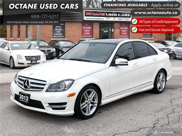 2012 Mercedes-Benz C-Class Base (Stk: ) in Scarborough - Image 1 of 25
