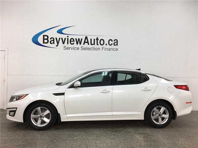 2015 Kia Optima LX (Stk: 35019J) in Belleville - Image 1 of 28