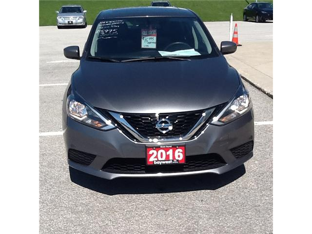 2016 Nissan Sentra 1.8 S (Stk: ) in Owen Sound - Image 1 of 4