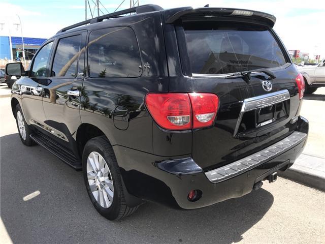 2014 Toyota Sequoia Platinum 5.7L V8 (Stk: 190045A) in Cochrane - Image 3 of 14
