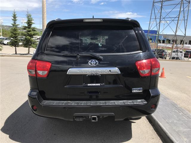 2014 Toyota Sequoia Platinum 5.7L V8 (Stk: 190045A) in Cochrane - Image 4 of 14