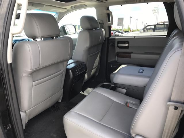 2014 Toyota Sequoia Platinum 5.7L V8 (Stk: 190045A) in Cochrane - Image 12 of 14