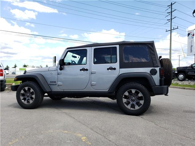 2017 Jeep Wrangler Unlimited Sport (Stk: N13461) in Newmarket - Image 8 of 13