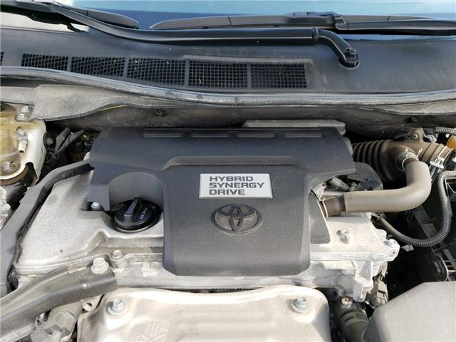 2017 Toyota Camry Hybrid XLE (Stk: P1814) in Whitchurch-Stouffville - Image 17 of 19