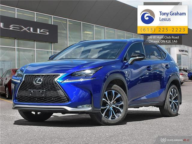 2017 Lexus NX 200t Base (Stk: Y3440) in Ottawa - Image 1 of 29