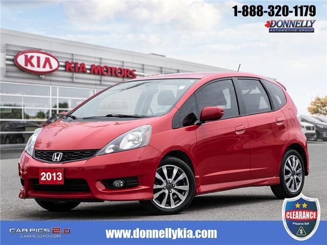 2013 Honda Fit Sport (Stk: CLKS277A) in Kanata - Image 1 of 27