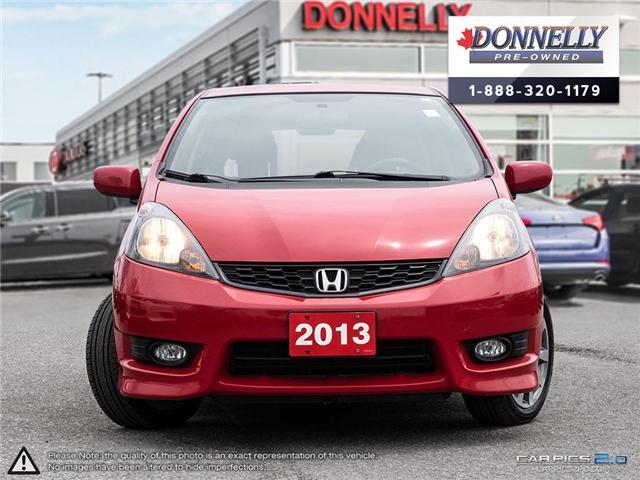 2013 Honda Fit Sport (Stk: CLKS277A) in Kanata - Image 2 of 27