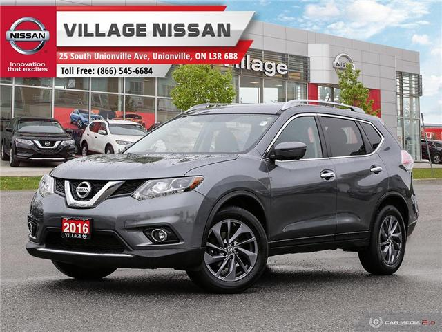 2016 Nissan Rogue SL Premium (Stk: P2833) in Unionville - Image 1 of 27