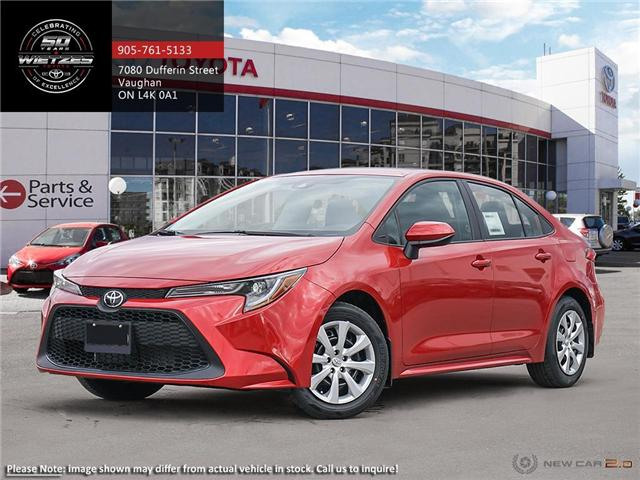 2020 Toyota Corolla LE (Stk: 68909) in Vaughan - Image 1 of 24