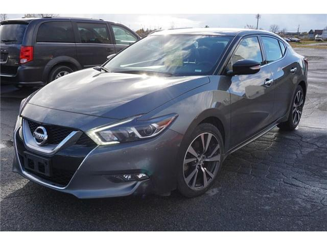 2017 Nissan Maxima  (Stk: 18A255) in Kingston - Image 2 of 17