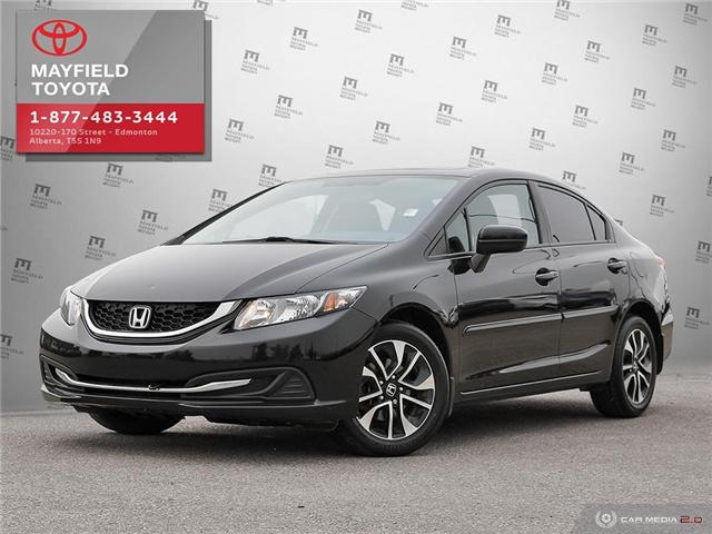 2015 Honda Civic EX (Stk: 1862846B) in Edmonton - Image 1 of 27