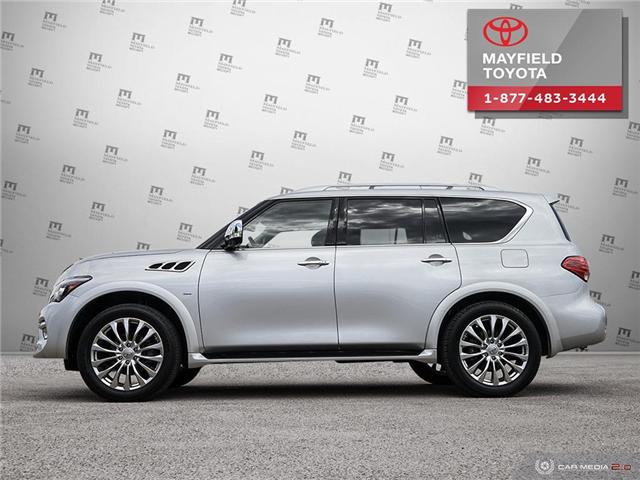 2017 Infiniti QX80 Base 7 Passenger (Stk: 194099) in Edmonton - Image 3 of 20