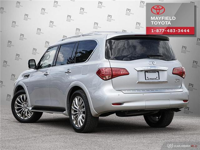 2017 Infiniti QX80 Base 7 Passenger (Stk: 194099) in Edmonton - Image 4 of 20