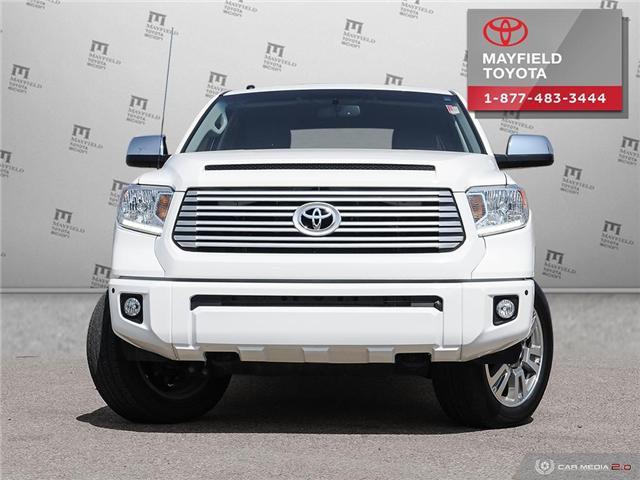2017 Toyota Tundra Platinum 5.7L V8 (Stk: 192100A) in Edmonton - Image 2 of 28