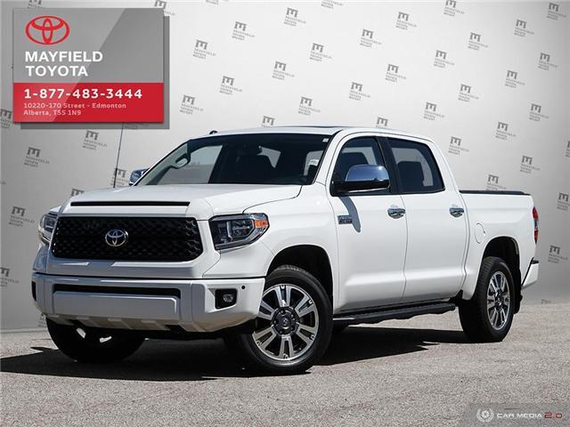 2018 Toyota Tundra Platinum 5.7L V8 (Stk: 1861086) in Edmonton - Image 1 of 20